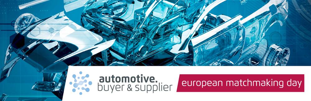 Logo und Schriftzug des Automotive Buyer and Supplier Matchmaking Day 2020
